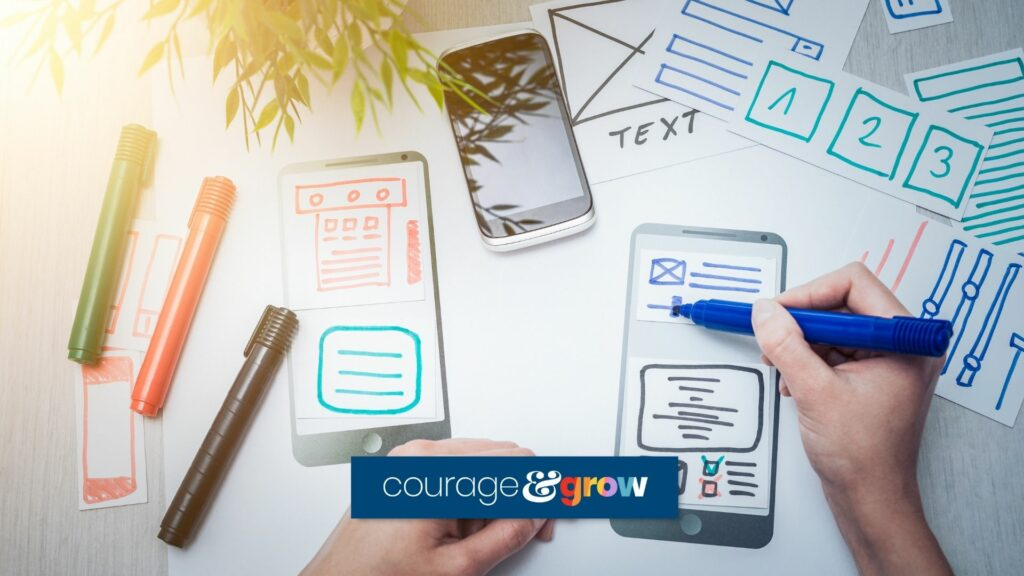 mobile website wireframes hand drawn best landing pages