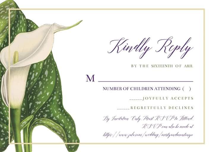 wedding invitation with terrible fonts - font mistakes